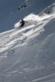 Freeride skidar Arkivbilder
