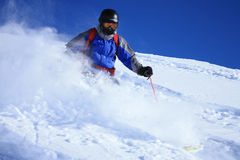 Freeride skier 1 Stock Photography