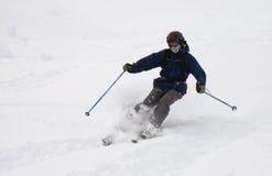 Freeride skier Royalty Free Stock Image