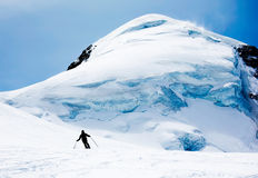 Freeride skier Royalty Free Stock Photo