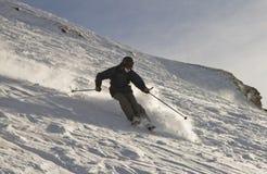 Freeride Skifahrer Lizenzfreies Stockbild