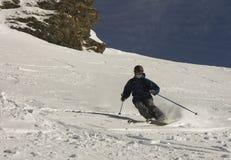 Freeride Skifahrer Lizenzfreie Stockbilder