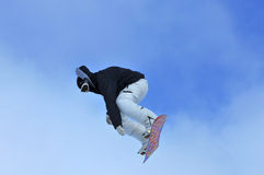 Freeride snowboarder Royalty Free Stock Image