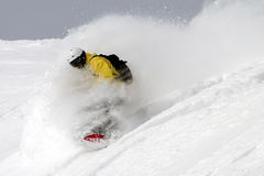Freeride snowboarding Royalty Free Stock Photos
