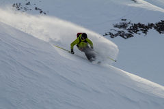 Freeride sur le Kamtchatka Images stock
