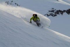 Freeride sur le Kamtchatka Images stock