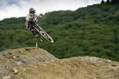 Freeride-Wettbewerb Lizenzfreie Stockfotografie