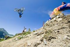 Freeride-Wettbewerb Lizenzfreie Stockbilder