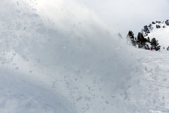Freerider snowboarder in snow powder Royalty Free Stock Photo