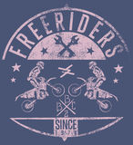 Freeriders Royalty Free Stock Photos