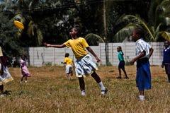 Freesby en Afrique, enfants Image stock