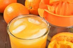 Freesh orange juice Stock Photo