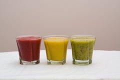 Freesh smoothie drinks Stock Image