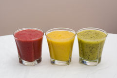 Freesh smoothie drinks Royalty Free Stock Photo