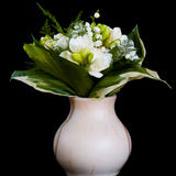 Freesia and Lily. Stock Images