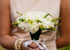 Freesias de la boda Fotografía de archivo libre de regalías