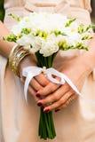 Freesias de mariage Photos libres de droits