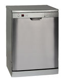 Freestanding INOX dishwasher Royalty Free Stock Photos