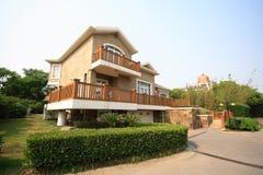 Freestanding Villa. A freestanding villa in Shanghai royalty free stock photography
