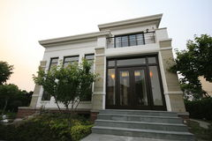 Freestanding Villa Stock Photos
