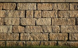 Freestone Wall Royalty Free Stock Photos