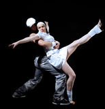 Freestyle dance Royalty Free Stock Images