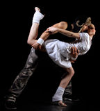 Freestyle dance Stock Photography