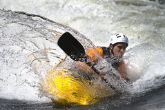 Freestyle Kayak Royalty Free Stock Image