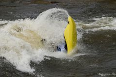 Freestyle Kayaker Royalty Free Stock Image
