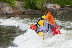 Freestyle Kayaker Stock Photos
