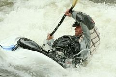 Freestyle Kayaking Royalty Free Stock Photo