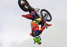 Freestyle motocross fotografia stock