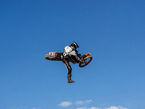 Freestyle motocross del MX Fotografie Stock