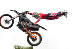 Freestyle motocross Stock Image