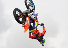 Freestyle motocross Royalty Free Stock Photography