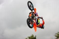 Freestyle motocross Royalty Free Stock Photos
