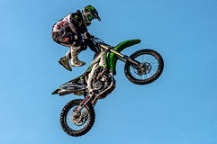 Freestyle motocross - Petr Kuchar Stock Photos