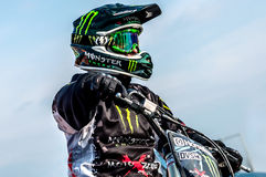 Freestyle motocross - Petr Kuchar Stock Photography