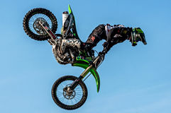 Freestyle motocross - Petr Kuchar Royalty Free Stock Photos