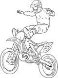 Freestyle motorbike Royalty Free Stock Image