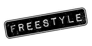 Freestyle rubber stamp Royalty Free Stock Photos
