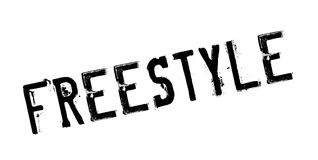 Freestyle rubber stamp Royalty Free Stock Images