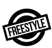 Freestyle rubber stamp Stock Images