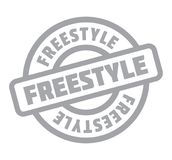 Freestyle rubber stamp Royalty Free Stock Photography