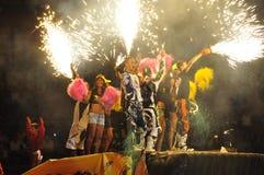 Freestyle show Stock Photo