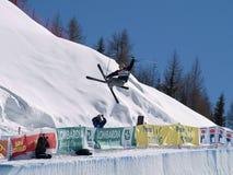 Freestyle ski Royalty Free Stock Images