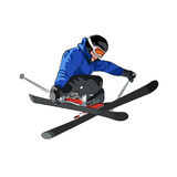 Freestyle ski Royalty Free Stock Photo