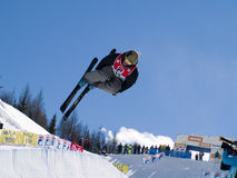 Freestyle skier Stock Images