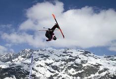 Freestyle skier Royalty Free Stock Photography