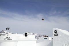 Freestyle skier Stock Image